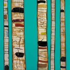 Greenbox Art + Culture Birch Trunks On Sky Blue Stretched Canvas Wall Art by Eli Halpin, 14 by 14-Inch by Oopsy daisy. $61.19. Proudly handcrafted in the united states from artist quality canvas and then hand stretched around a wood frame. Each beautiful piece includes a sawtooth for hanging and artist biography. Gorgeous giclee wall art. Polyester 65% / Cotton 35%. Stretched canvas wall art featuring contemporary stark and peeling tree trunks set on a deep turquoise...
