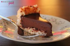 Lick The Bowl Good: Pie Party Recipes: Chocolate Macaroon Pie. For lower carb, use unsweetened coconut and add sweetener such as Stevia or Swerve.