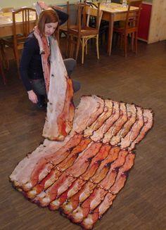 Bacon Scarf