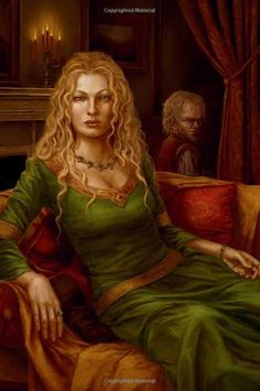 Cersei and Tyrion, illustrated CoK Game Of Thrones Cersei, Got Game Of Thrones, Game Of Thrones Artwork, Game Of Thrones Books, Familia Lannister, Battle Of Blackwater, Cercei Lannister, Cersei And Jaime, A Clash Of Kings