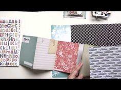 Video zum #dpAugustkit14 und der #AddOn Kits - inkl. Tutorial für 1 Minialbum / Travel Journal von Daniela Peuß für www.danipeuss.de