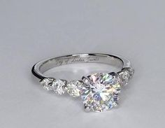 Engagement Rings Ideas & Trends 2017 - DISCOVER A Perfect Round Cut Solitaire Russian Lab Diamond Engagement Wedding Anniversary Ring - Joy of Wedding Rings Simple, Wedding Rings Solitaire, Beautiful Wedding Rings, Princess Cut Engagement Rings, Beautiful Engagement Rings, Wedding Rings Vintage, Engagement Ring Cuts, Vintage Engagement Rings, Wedding Jewelry
