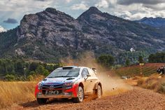 The road was hazy with dust caused by i20 WRC - @hyundai.official - 희뿌연 먼지를 길게 일으키며 거칠게 달리는 i20 WRC - #acloudofdust #mountain #behind #hazy #rough #hardship #graval #onthefirstday #run #race #carwithoutlimits #i20WRC #Spain #Rally #motorsport #WRC #Hyundai