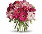 A Little Pink Me Up Flowers, A Little Pink Me Up Flower Bouquet - Teleflora.com