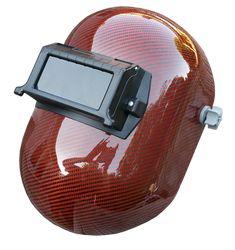 Orange Carbon Fiber Welding Helmet - Pipeline Style - Matte or High Gloss Welding Classes, Welding Jobs, Welding Helmet, Welding Projects, Welding Ideas, Metal Projects, Art Projects, Project Ideas, Shielded Metal Arc Welding