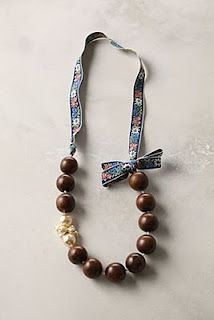 Anthropologie Inspired Beaded Necklace Tutorial