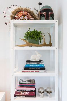 Duncan Innes - desire to inspire - desiretoinspire.net White metalshelves