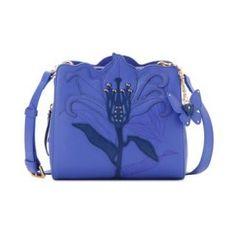 Lapalette FLOWER MINI CROSS BAG Purple (BC4XA2170_Purple) bag, сумки модные брендовые, www.bloghandbags.blogspot.ru