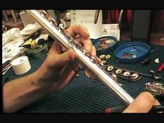 Flute Maintenance & Repair part 2 of 3 (+playlist)