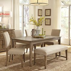 Youu0027ll Love The 6 Piece Dining Set At Wayfair   Great Deals On All