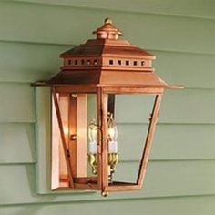 $308 Norwell Lighting 2255-CO-CL New Orleans 2 Light Outdoor Wall Sconce In Copper With Clear Glass 2255COCL Outdoor Light Fixtures, Outdoor Wall Sconce, Outdoor Wall Lighting, Wall Sconce Lighting, Wall Sconces, Outdoor Ceiling Fans, Outdoor Wall Lantern, Outdoor Walls, Exterior Light Fixtures