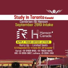 Now, Apply for Study in Canada With Networth Overseas Consultants. Visit Vancouver, Overseas Education, Patiala, Toronto Canada, Ielts, How To Apply, College, Study, India