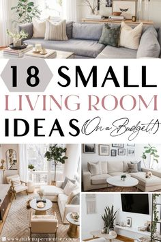 Ikea Living Room, Small Apartment Living, Living Room On A Budget, Small Apartment Decorating, Boho Living Room, Small Living Rooms, Small Apartments, Small Spaces, Bohemian Living