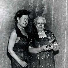 Billie Holiday and her mother Sadie