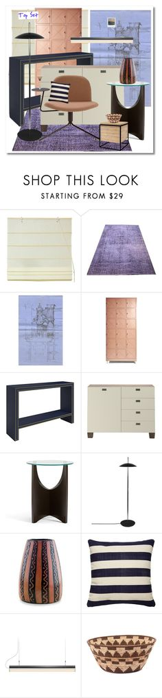 """""""every piece a puzzle"""" by topcoatballet ❤ liked on Polyvore featuring interior, interiors, interior design, home, home decor, interior decorating, Turnstone, Souda, NOVICA and Kate Spade"""