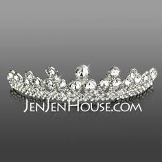 Headpieces - $19.99 - Headpieces (Attractive Clear Crystals Wedding Bridal Tiara 042005466) http://jenjenhouse.com/Headpieces-Attractive-Clear-Crystals-Wedding-Bridal-Tiara-042005466-g5466