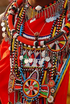 Masai Jewellery by ppdesigns, via Flickr