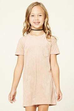 Girls Faux Suede Dress (Kids)