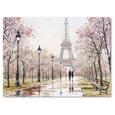 Wisk away to the glistening streets of Paris with the Macneil Studio Eiffel Tower Canvas Wall Art. This breathtaking scene shapes color into structure and light into depth, and is sure to be the conversation piece of your entire space. Canvas Art Prints, Wall Prints, Painting Prints, Canvas Wall Art, Paintings, Paris Kunst, Paris Art, Art Parisien, Eiffel Tower Painting