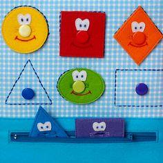 Quiet Books Learning & Sensory Toys Felt by CuteGiftsAndCrafts