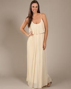 Vestido Longo Plissado - Trettiore