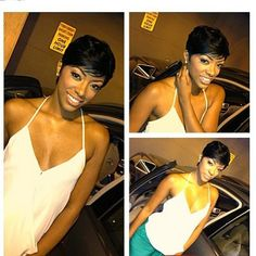 Porsha Stewart New Hair Cut! Short hair is just MADE for certain women!