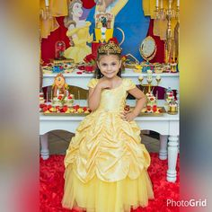 Belle / Beauty and the Beast Birthday Party Ideas | Photo 2 of 36