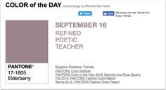 APPart – Mobile Art – Pantone Color of the Day – 'Elderberry' – TheAppWhisperer