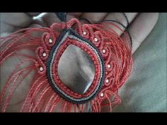 Tutorial Collar en macramé Diseño Impresionante - YouTube