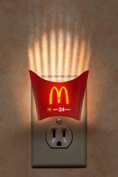 Great use of MARCOM by McDonalds via @BlaineTurner