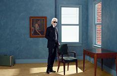 Confere a exposição sobre o trabalho fotográfico de Karl Lagerfeld na Pinacoteca de Paris!