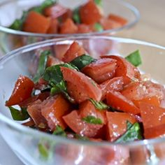 Summer Tomato Salad by ateaspoonofhappiness