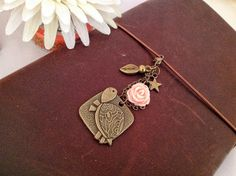 Cute Tortoise Midori Traveler Notebook Charm A by PrettySang