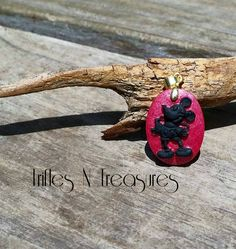 Old Fashioned Mouse Boy Polymer Clay Pendant by TNTPatterns