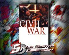 CIVIL WAR TP. COMPENDIO CON LOS 7 COMICS QUE FORMAN LA HISTORIA. $ 400.00  Para más información, contáctanos en http://www.facebook.com/la5aDimension