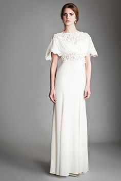 Temperley London wedding gown
