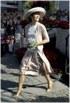 16 August 2006 - Opening of the Odense Flower Festival