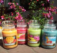 Fruity summer... Yankee Candle by SwiatZapachow.pl