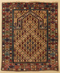 Shirvan prayer rug, Caucasus, last quarter 19th century. Christopher Emmet collection