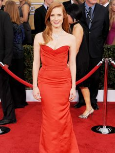 2013: Jessica Chastain the Screen Actors Guild Awards