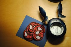 Make your own spiderman birthday invitations
