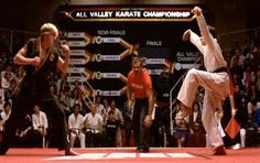 1st movie I got to see in the theater without parental supervision ...lol (The Karate Kid)