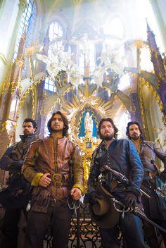 The Musketeers Tv Series, Bbc Musketeers, The Three Musketeers, The Muskateers, Howard Charles, Renaissance, Luke Pasqualino, Tom Burke, Film Serie