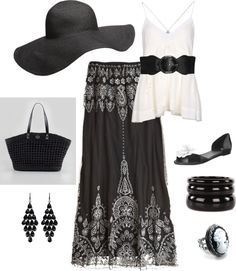 """""""Chic Summer Outfit"""" by keri-cruz on Polyvore"""