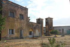Monteruga, the ghost town, abandoned in the 80s. Veglie, Salento, Puglia