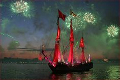 scarlet sails white nights russia