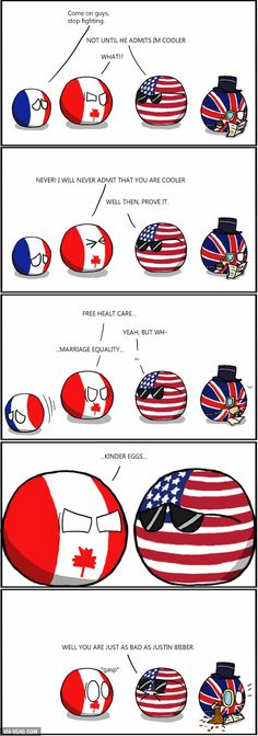 Canada is cool, pun intended. - 9GAG
