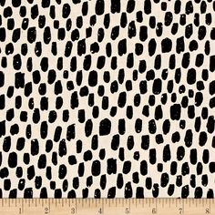 Cotton + Steel Printshop Bricka Black from @fabricdotcom  Designed by Alexia Marcelle Abegg for Cotton + Steel, this cotton print is perfect for quilting, apparel and home decor accents. Colors include black and neutral.