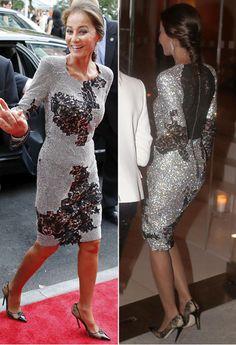 montajeisabel1 Cristina Reyes, Jessica Parker, Evening Dresses, Formal Dresses, Ascot, Style Icons, Fashion Shoes, Chic, Celebrities