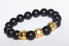Bracelet homme pierre de Gemmes/Acier Crane, Beaded Bracelets, Etsy, Jewelry, Male Jewelry, Man Bracelet, Skull, Unique Jewelry, Steel